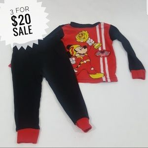 Boys Pajama Outfit Size 2T